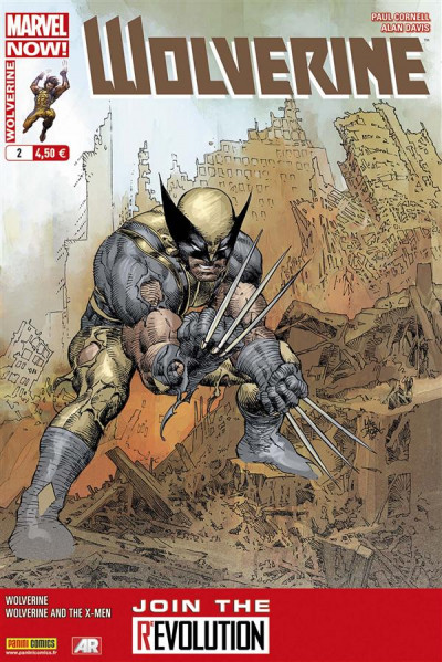 Couverture Wolverine 2013 tome 2