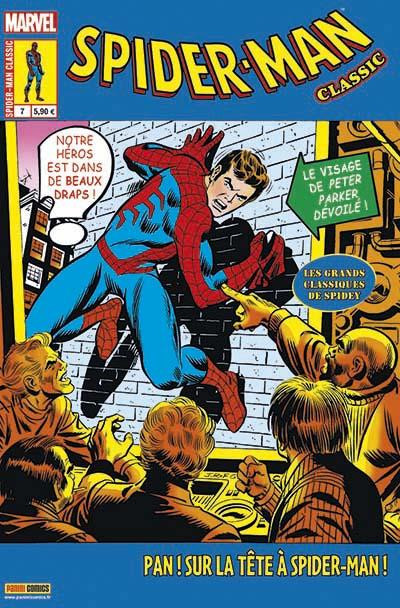 Couverture Spider-man classic tome 7