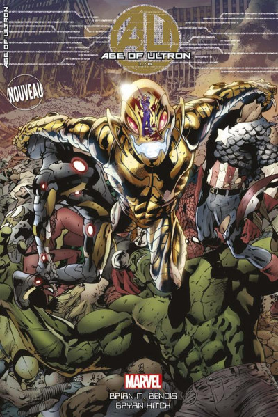 Couverture Age of ultron tome 1