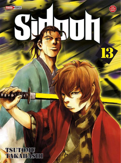 Couverture sidooh tome 13