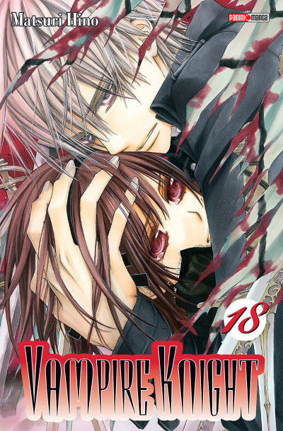 Couverture Vampire knight tome 18