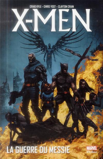 Couverture X-Men - La Guerre du messie