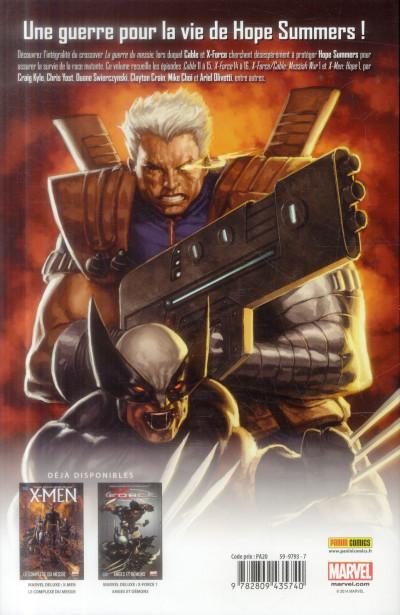 Dos X-Men - La Guerre du messie
