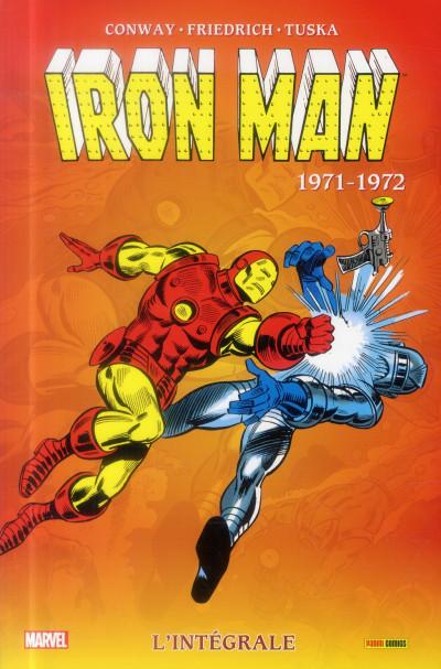 Couverture Iron Man - Intégrale 1971-1972