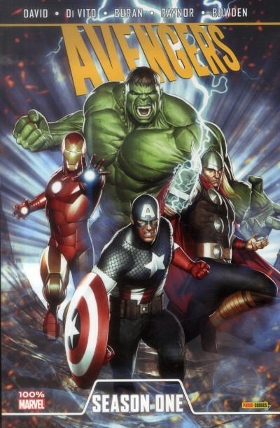 Couverture Avengers Season One