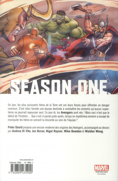 Dos Avengers Season One