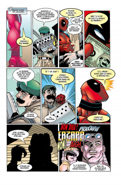 Page 0 Deadpool tome 1