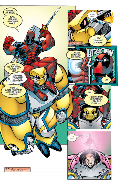 Page 9 Deadpool tome 1