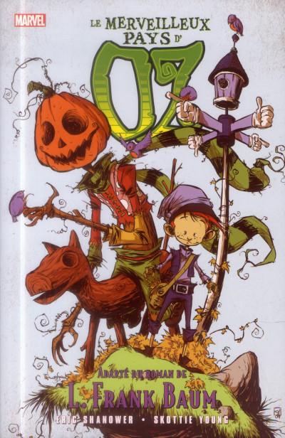 Couverture Le Magicien d'Oz Tome 3 - Le merveilleux pays d'Oz