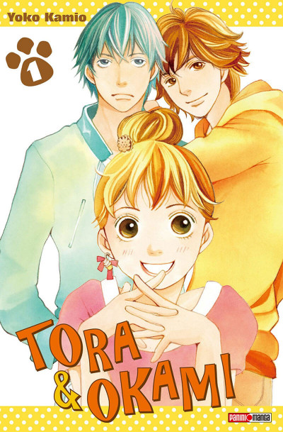 Couverture Tora & Ookami tome 1