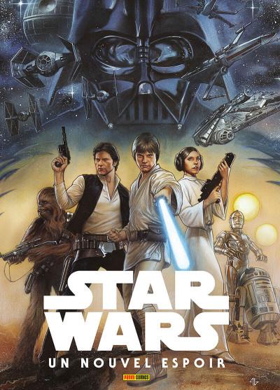 Couverture Star Wars Épisode IV - Un nouvel espoir