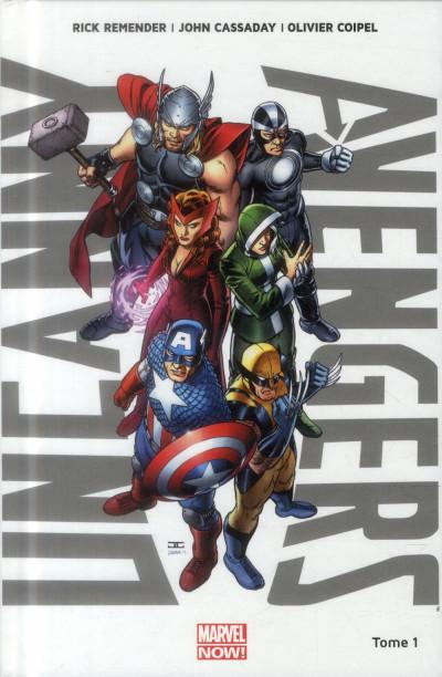 Couverture Uncanny Avengers Tome 1