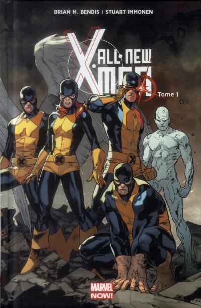 Couverture All New X-Men Tome 1