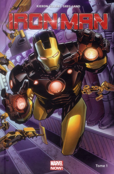 Couverture Iron-Man tome 1