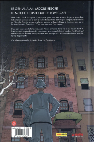 Dos Providence tome 1