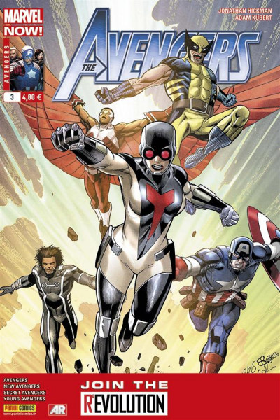Couverture Avengers 2013 tome 3