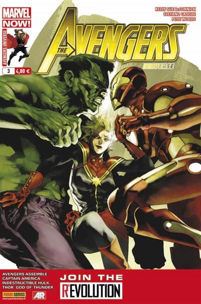Couverture Avengers universe 003