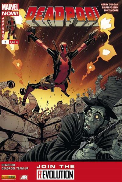 Couverture Deadpool (4è série) tome 2