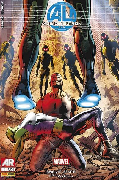 Couverture Age of ultron 2