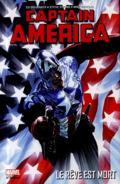Couverture Captain America - Le Rêve est mort