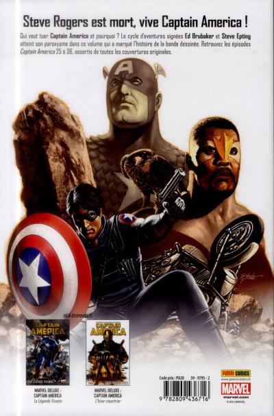 Dos Captain America - Le Rêve est mort