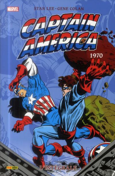 Couverture Captain America - Intégrale 1970