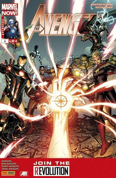 Couverture Avengers 2013 tome 4
