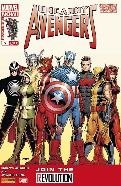 Couverture Uncanny avengers 05