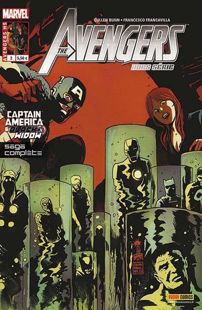 Couverture Avengers - Captain america et Black widow