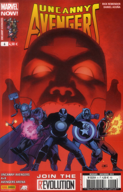 Couverture Uncanny Avengers N.6