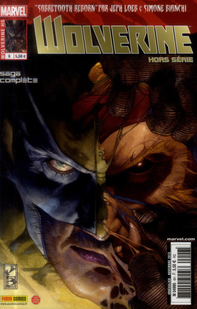 Couverture Wolverine HORS-SERIE N.6