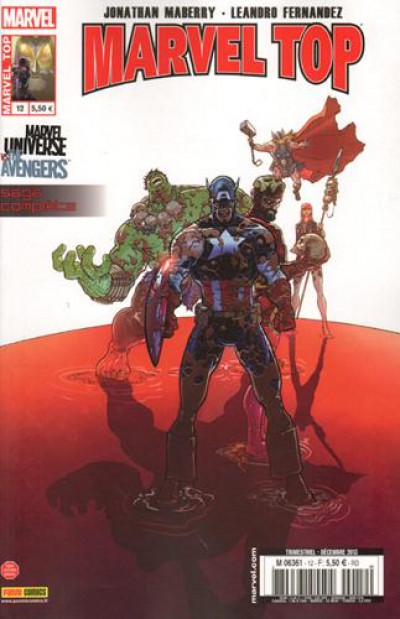 image de Marvel Top 12 Marvel Universe Vs The Avengers