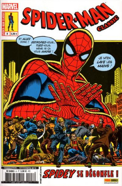 Couverture Spider-man classic tome 8