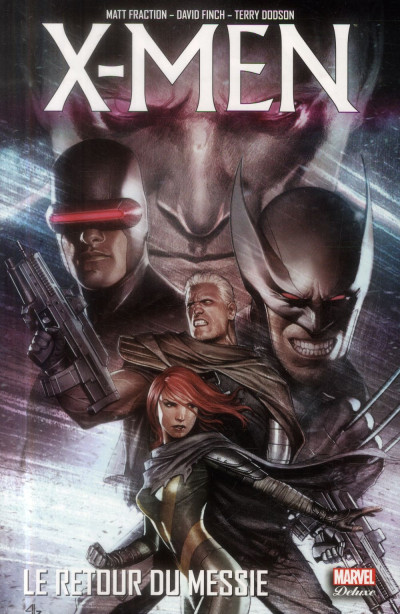 Couverture X-Men - Le Retour du messie