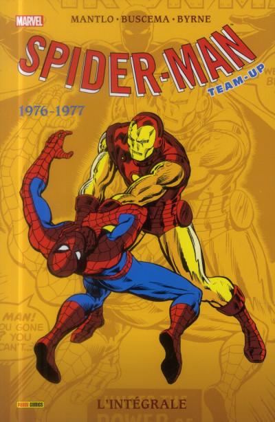 Couverture Spider-Man - Team-Up - Intégrale 1976-1977