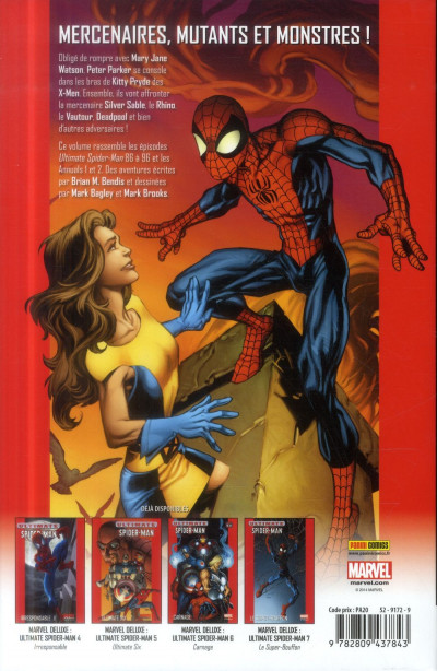 Dos Ultimate Spider-Man tome 8