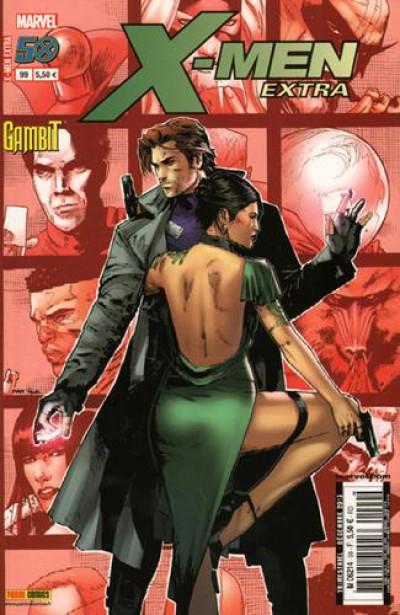 Couverture X-Men Extra 99 Gambit