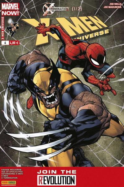 Couverture X-Men Universe 2013 tome 6  : X-Termination 1/2