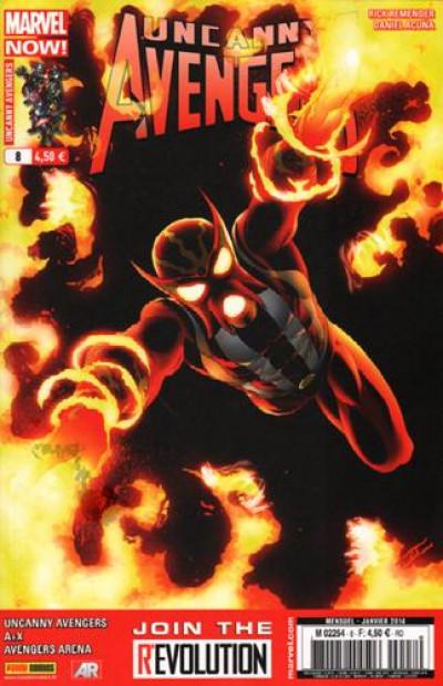Couverture Uncanny avengers tome 8