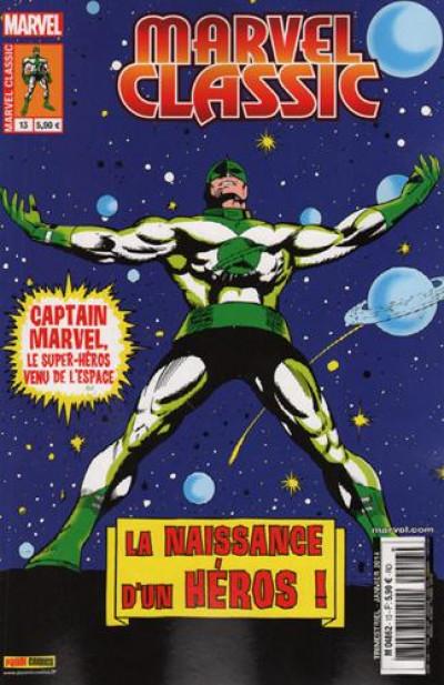 Couverture Marvel Classic N.13 ; Captain Marvel