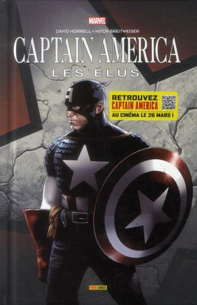 Couverture Captain America - Les Élus