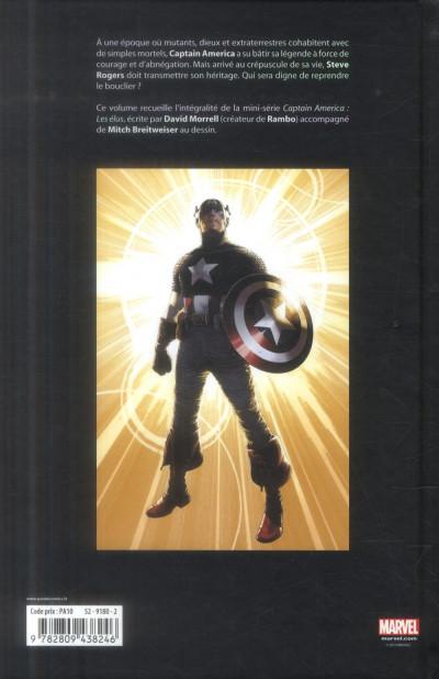 Dos Captain America - Les Élus