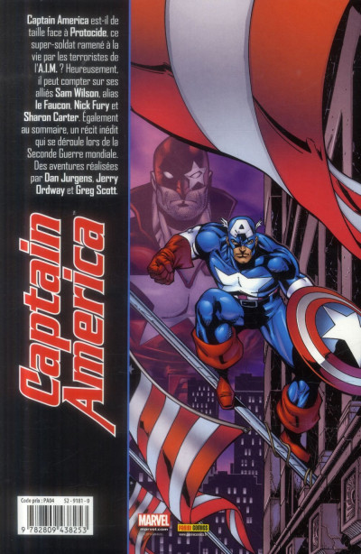 Dos Captain America Tome 3 (Best Comics)
