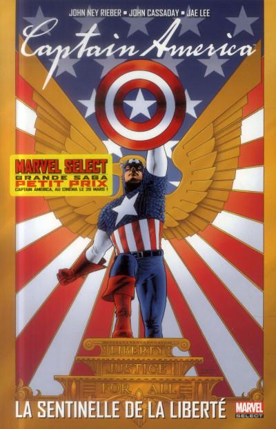 Couverture Captain America - La Sentinelle de la liberté