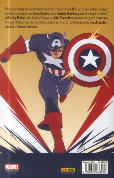 Dos Captain America - La Sentinelle de la liberté