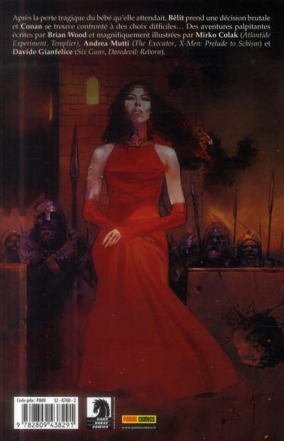 Dos Conan le barbare Tome 3