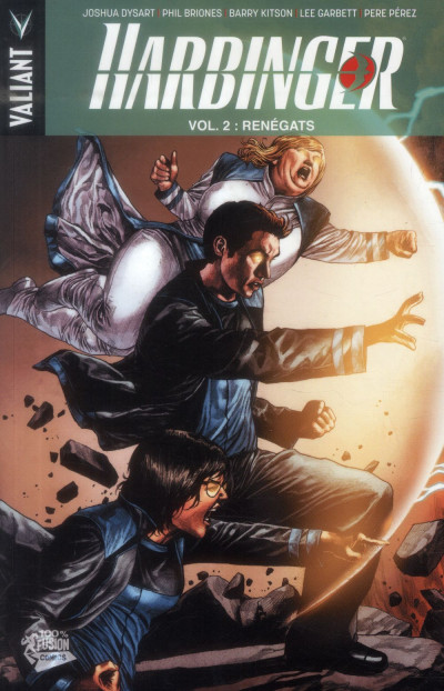Couverture Harbinger Tome 2