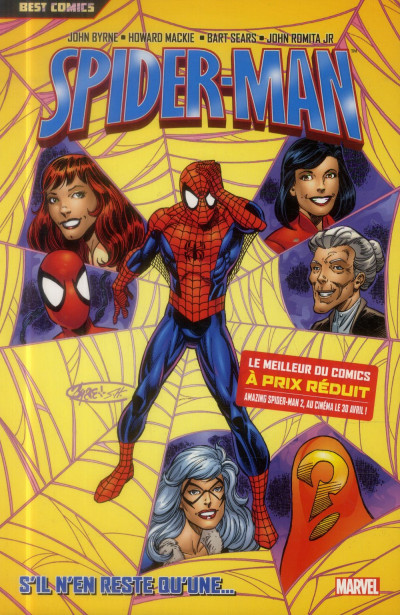 Couverture Spider-Man Tome 6 (Best Comics)