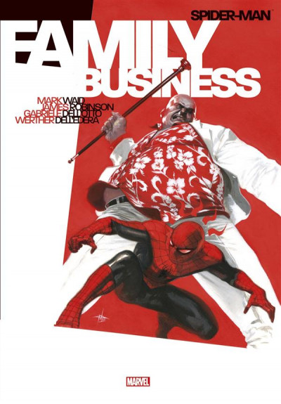 Couverture Spider-Man - Family Business