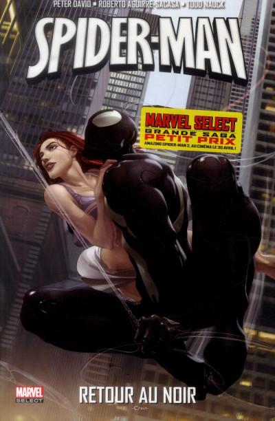 Couverture Spider-Man - Retour au noir